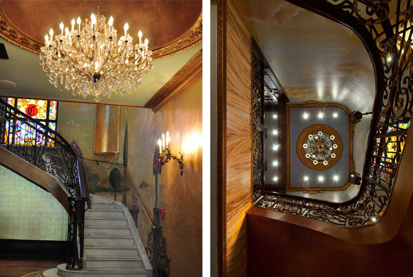 The cruz building coconut grove miami level 2 marble and brass spiral staircaseimage 29 of 47 aloadofball Gallery