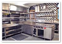 Kitchens For Cooking, Prep  & Refrigeration